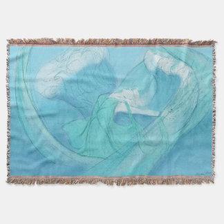 Watersprite Throw Blanket