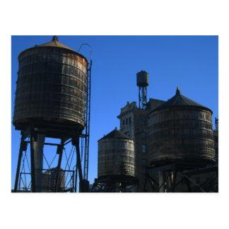 Watertanks NYC Postales
