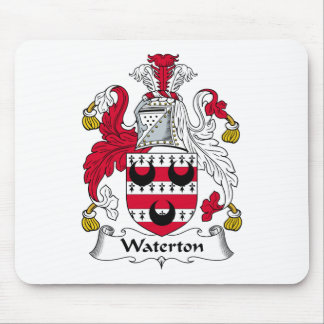 Waterton Family Crest Mouse Mats