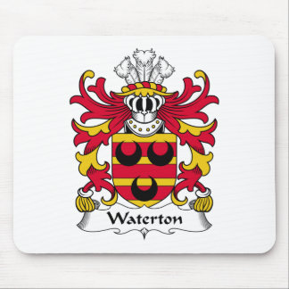 Waterton Family Crest Mouse Mat