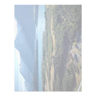 Waterton Lakes, Alpine Stables, Alberta, Canada Letterhead Design
