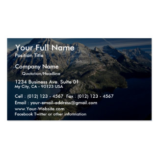 Waterton Lakes National Park, Alberta, Canada Double-Sided Standard Business Cards (Pack Of 100)