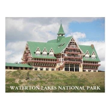 northwestphotos Waterton Lakes National Park Photo Postcard