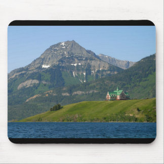 Waterton Lakes National Park Prince Of Wales Hotel Mouse Mats