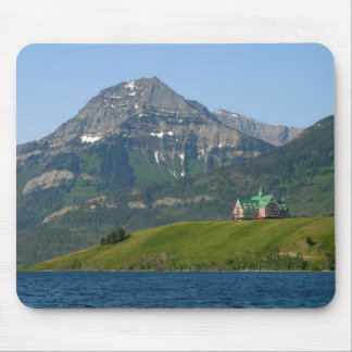 Waterton Lakes National Park Prince Of Wales Hotel Mouse Pads