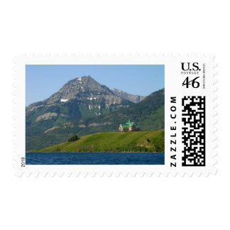 Waterton Lakes National Park Prince Of Wales Hotel Postage Stamp