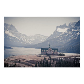 Waterton Lakes Overview Poster
