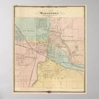 Watertown, Dodge & Jefferson cos Poster