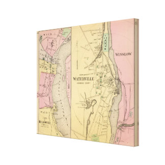 Waterville, Kennebec Co Canvas Print