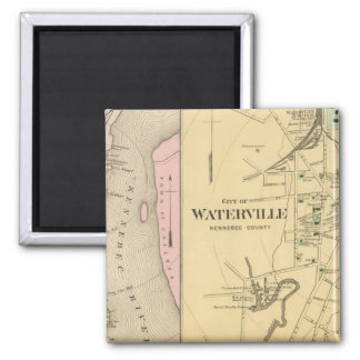 Waterville, Kennebec Co Magnet