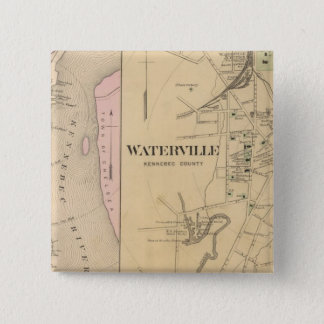Waterville, Kennebec County Button
