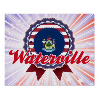 Waterville, ME Poster