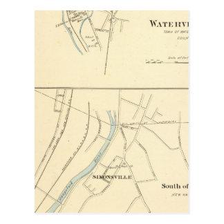 Waterville, S of Waterbury Postcard