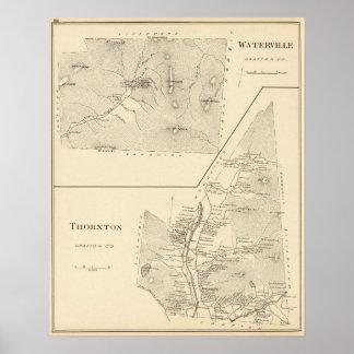 Waterville, Thornton Poster