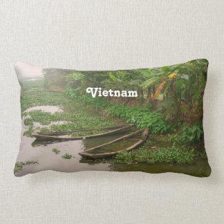 Waterway in Vietnam Pillows