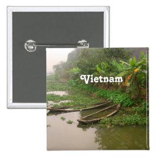 Waterway in Vietnam Pin