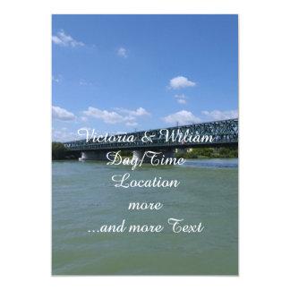 Waterways, Danube,Austria 5x7 Paper Invitation Card