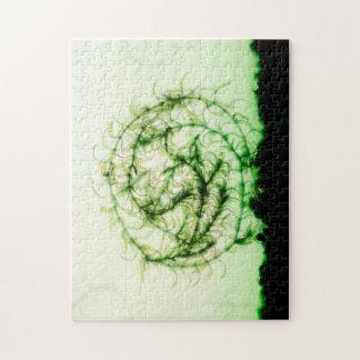 Waterweed circle puzzles