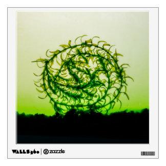 Waterweed circle wall sticker