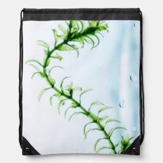 Waterweed Drawstring Bag