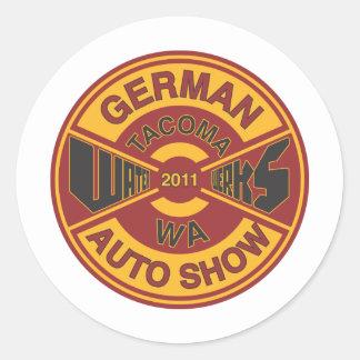 WaterWerks 2011 Classic Round Sticker