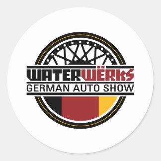 WaterWerks NW Classic Round Sticker
