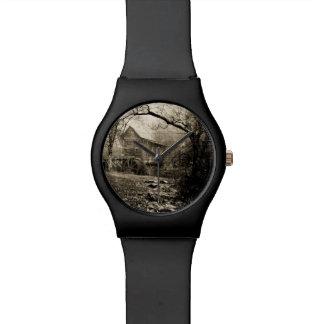 Waterwheel del vintage relojes de pulsera