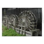 Waterwheels in Japan Card