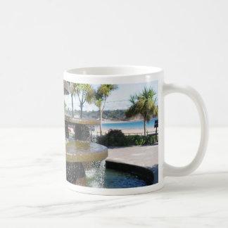 Waterworks On The Beach In Jersey Mugs