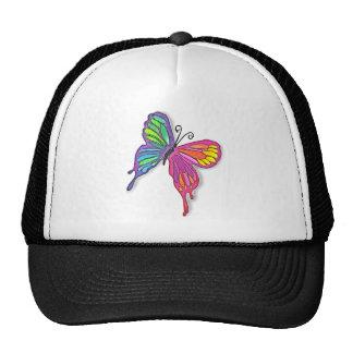 Watery  Butterfly Mesh Hats