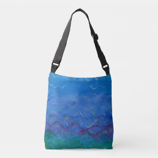Watery Cross Body Bag for the Water Lover