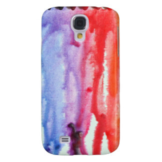 watery melted crayons galaxy s4 covers