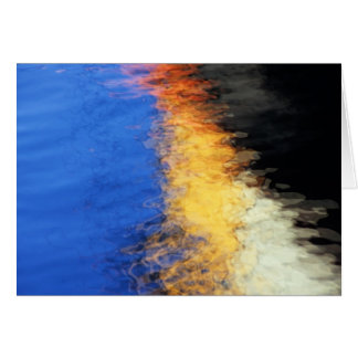 Watery Reflections Greeting Card