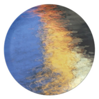 Watery Reflections Plate