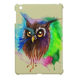 Watery Wood Owl Case For The iPad Mini