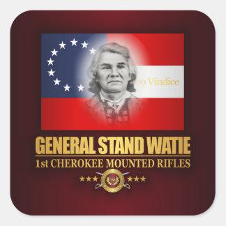 Watie (Southern Patriot) Square Sticker