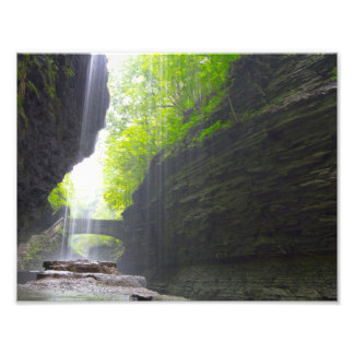 Watkins Glen state park, New York Photo Print