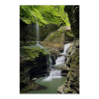 Watkins Glen Waterfall  Print