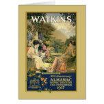 Watkins Ladies in the Garden Greeting Card