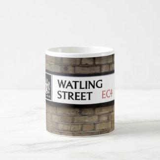 Watling Street EC4 Sign London Mug