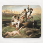 Watson and the Shark, by John Singleton Copley Mouse Pad
