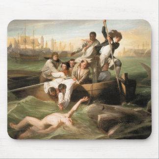 Watson and the Shark, by John Singleton Copley Mouse Pad