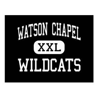 Watson Chapel - Wildcats - High - Pine Bluff Postcard