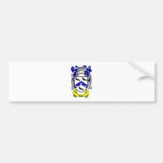 WATSON Coat of Arms Bumper Sticker