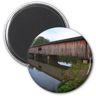 Watson Covered Bridge-Reflections Magnet
