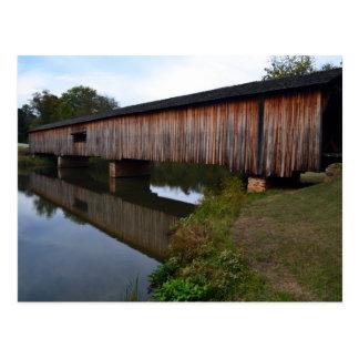 Watson Covered Bridge-Reflections Postcard