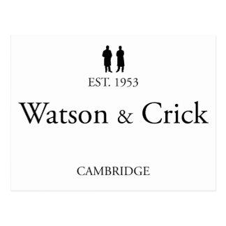 Watson & Crick Postcard