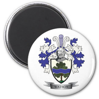 Watson Family Crest Coat of Arms Magnet