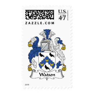 Watson Family Crest Postage