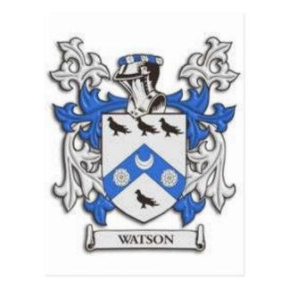 Watson Family Crest Postcards